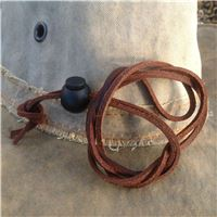 Hat Wind Strap made from supple leather